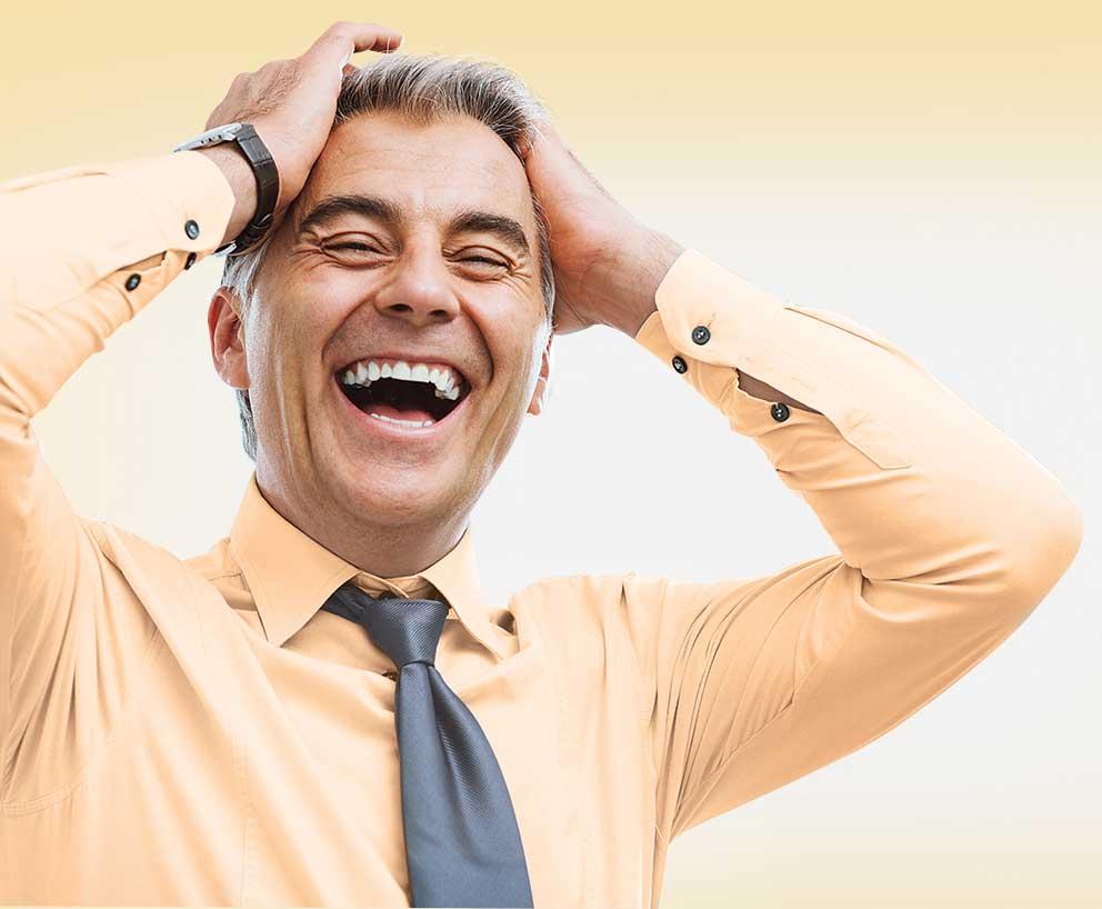 начал свою картинки смех мужчины тот способен
